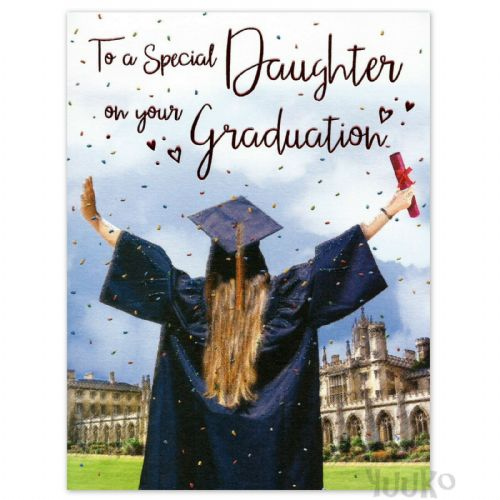 Special Daughter Graduation Gown